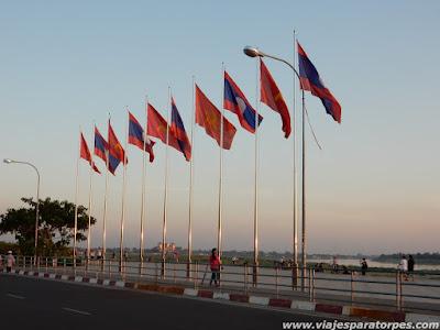 Viaje a Laos, 3º parte. Luang Prabang.