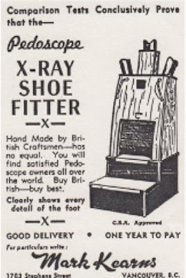 Pedoscope X-Ray Shoe Fitter