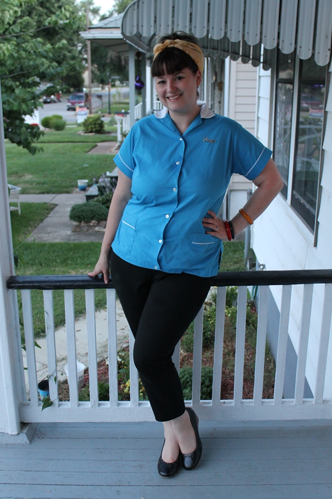 casual 1950s plus size pinup style from Va-Voom Vintage