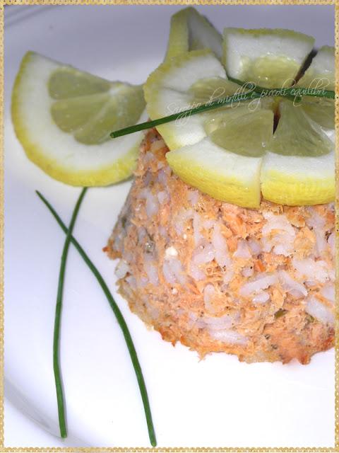pudding di salmone