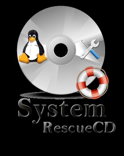 Disco de rescate de sistemas basado en Linux.