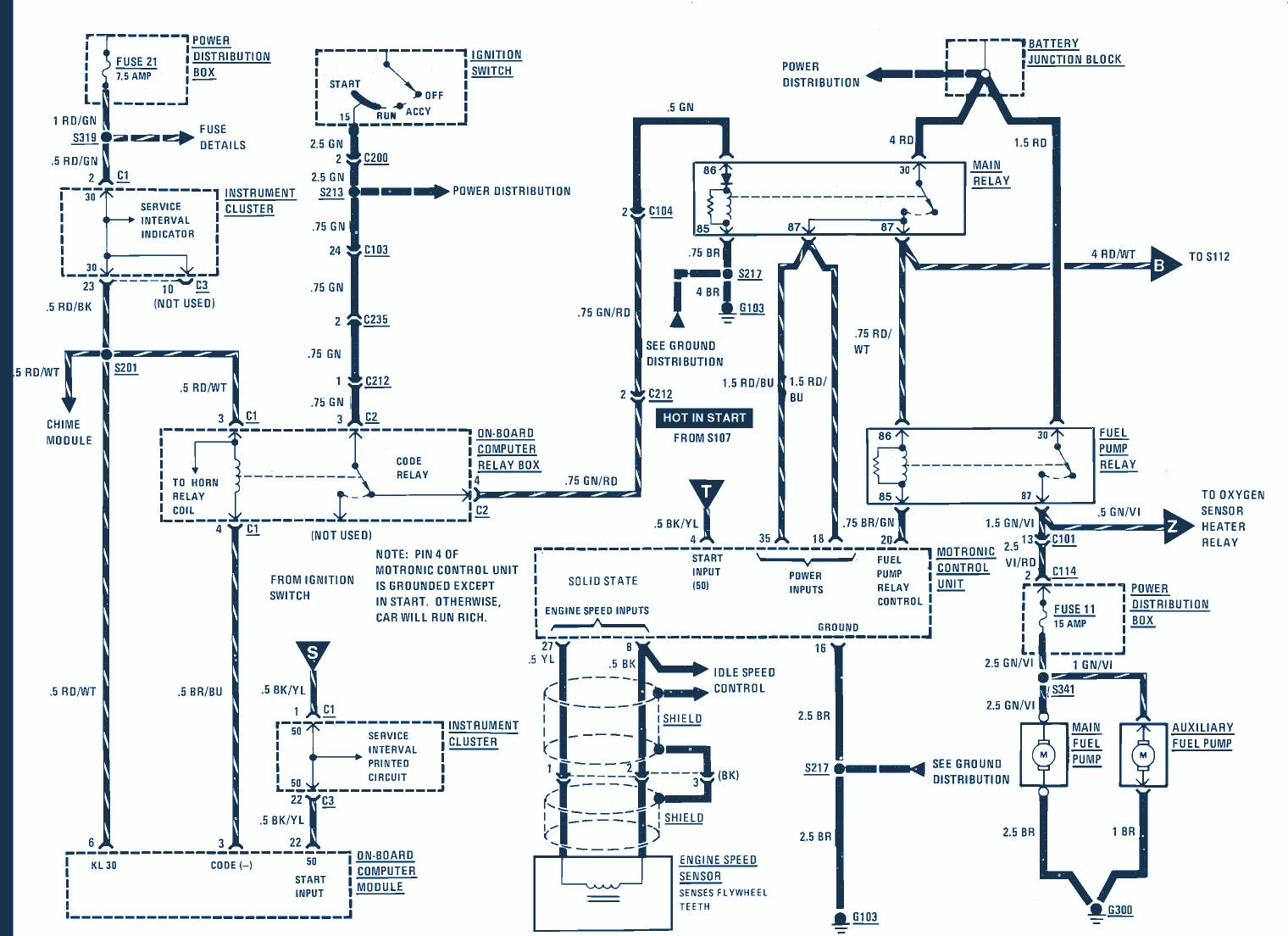 1986 bmw 325 wiring diagram