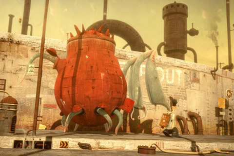 the lost thing oscar mejor corto animado 2011 - Mira este corto: The Lost Thing