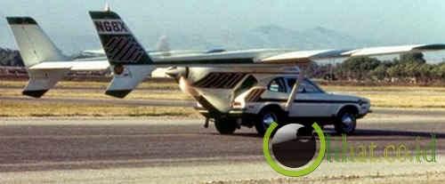 AVE Mizar, Kombinasi Mobil dan Pesawat