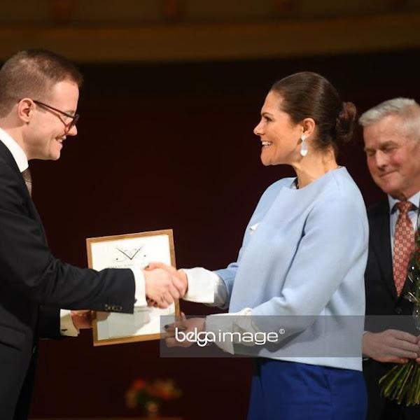 Księżniczka Victoria na uniwersytecie w Uppsali + niedzielny wieczór