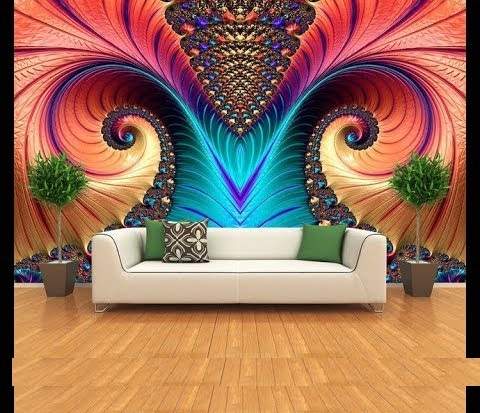 3D Mural Wallpaper For Walls 3D Wall Art Ideas