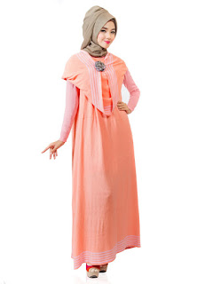 Desain baju hamil muslim keren untuk hari raya idul fitri