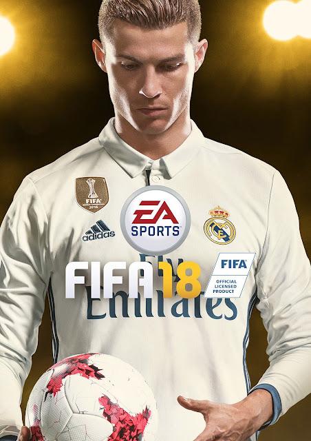 Cristiano Ronaldo Menjadi Cover Star untuk FIFA 18