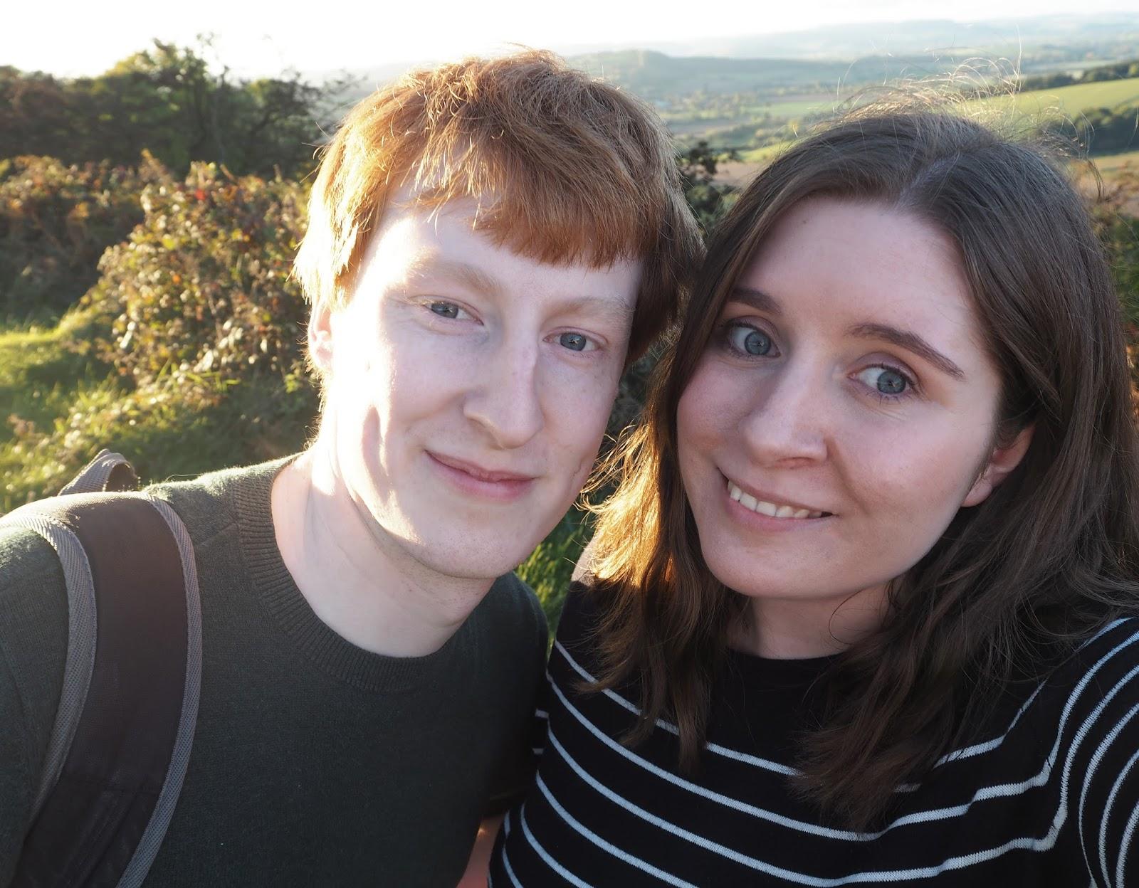 Sunset Couple Selfie