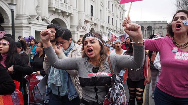 Perú: Convocan a marchas en contra de la violencia machista y la corrupción