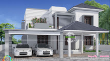 Simple And Elegant Modern House - Kerala Home Design