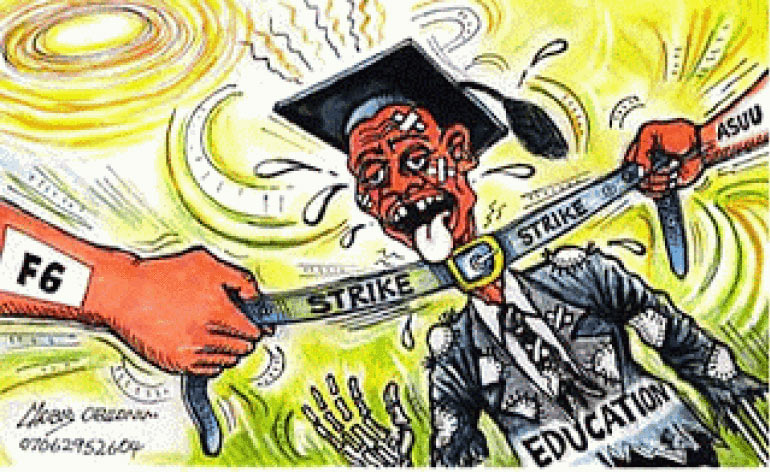 ASUU strike is illegal - Federal Government