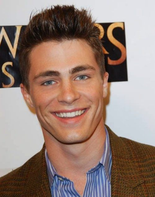 San Fransisco Mens Hairstyles Colton Haynes Casual Hairstyle