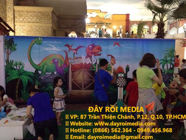 Thi công backdrop tại hội chợ chương trình [Kềm Nghĩa]
