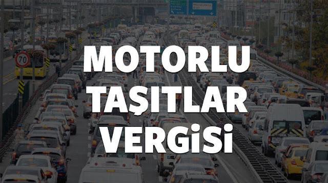 Motorlu Taşıtlar Vergisi (MTV)  Hesaplama