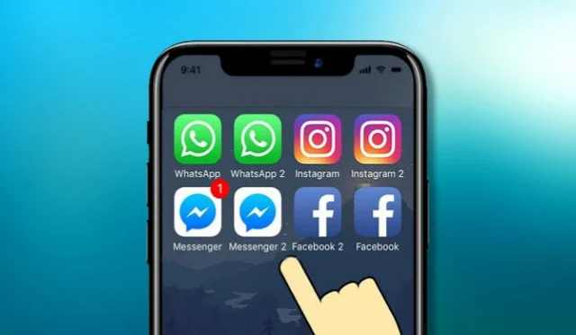 Instal dua akun whatsapp