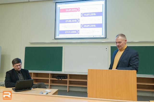 """Arhitekts Ingurds Lazdiņš prezentē alternatīvo priekšlikumu """"Depo"""" veikala projektam"""