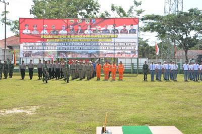 Kodim 0319/Mentawai Persiapan Upacara Penutupan TMMD, Gelar Gladi Bersih,