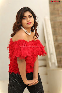 Priya Augustin in Red Top cute beauty hq .xyz Exclusive Pics 006