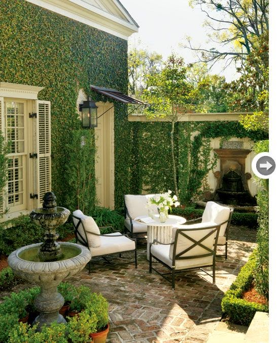 Designing Domesticity: Architectural Inspiration: The ... on Courtyard Patio Ideas id=90316