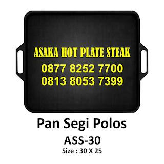 Hot plateASS - 30  ,  ASS - 30 ( Pan segi polos) , jual hotplate ,hot plate murah, grosir hot plate,hotplate asaka