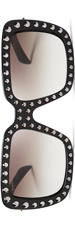 Prada Absolute Ornate Square Oversized Sunglasses