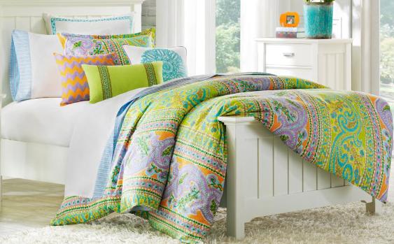 Preppy Dorm Bedding: Dorm Room Bedding I Love