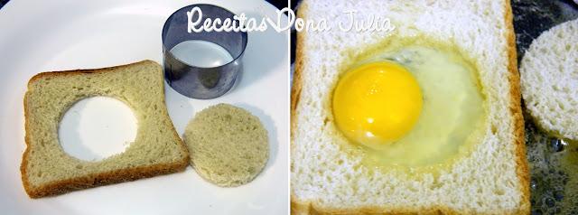 """""""Lanche de pão com ovo"""""""