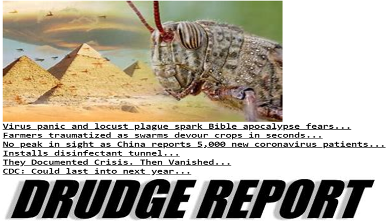 Salus Quoted on Top Drudge Report Post