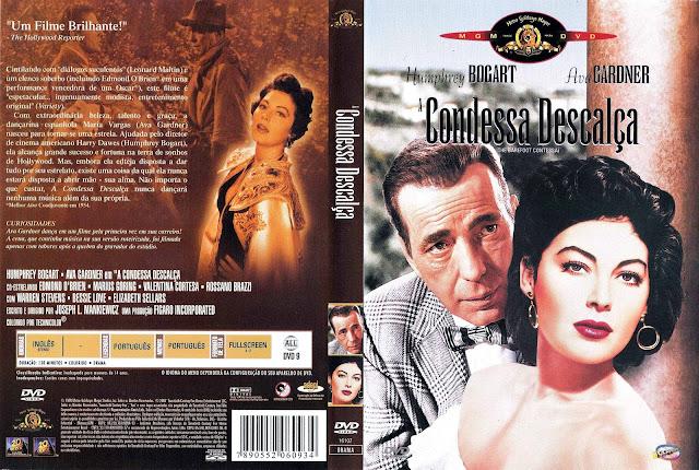 Capa DVD A Condessa Descalça