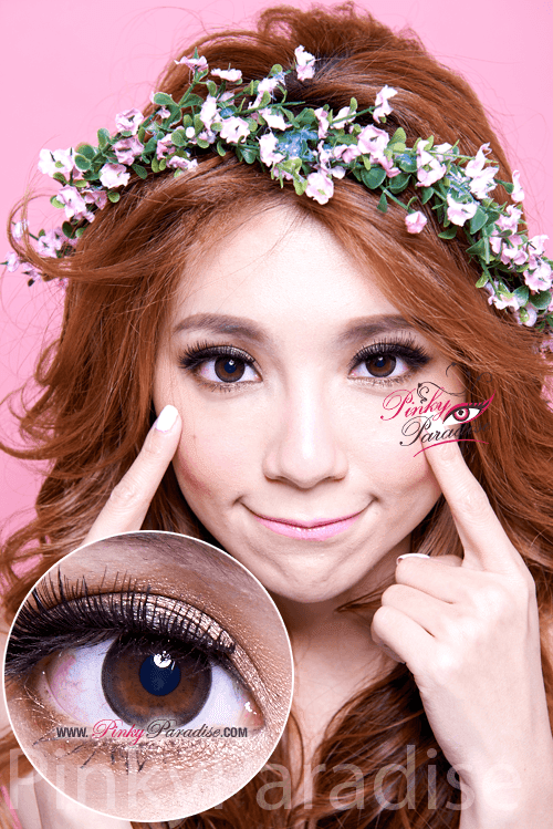 Mi Natural Black Toric Circle Lenses (Colored Contacts)