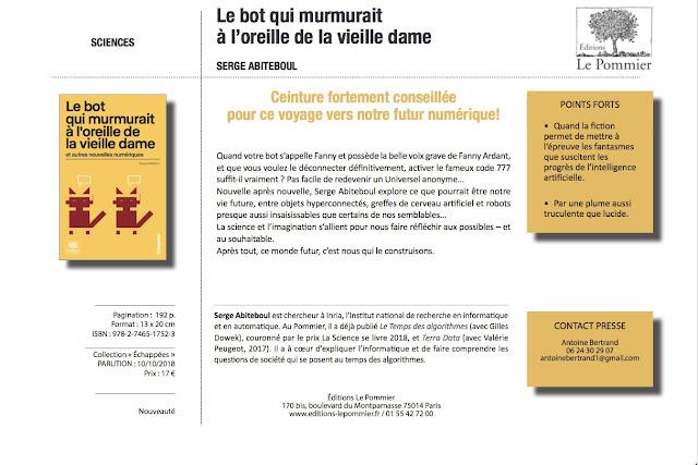 ... utilise ce blog pour faire « sa pub », mais bon on ne va pas se  censurer non plus, sous prétexte que http   binaire.blog.lemonde.fr existe  grâce à lui. ec14b67d8b3