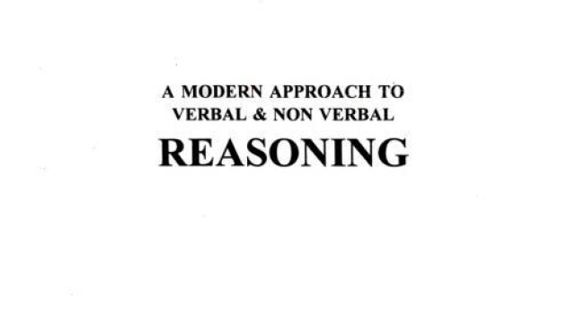 Verbal And Nonverbal Reasoning By Rs Aggarwal Pdf