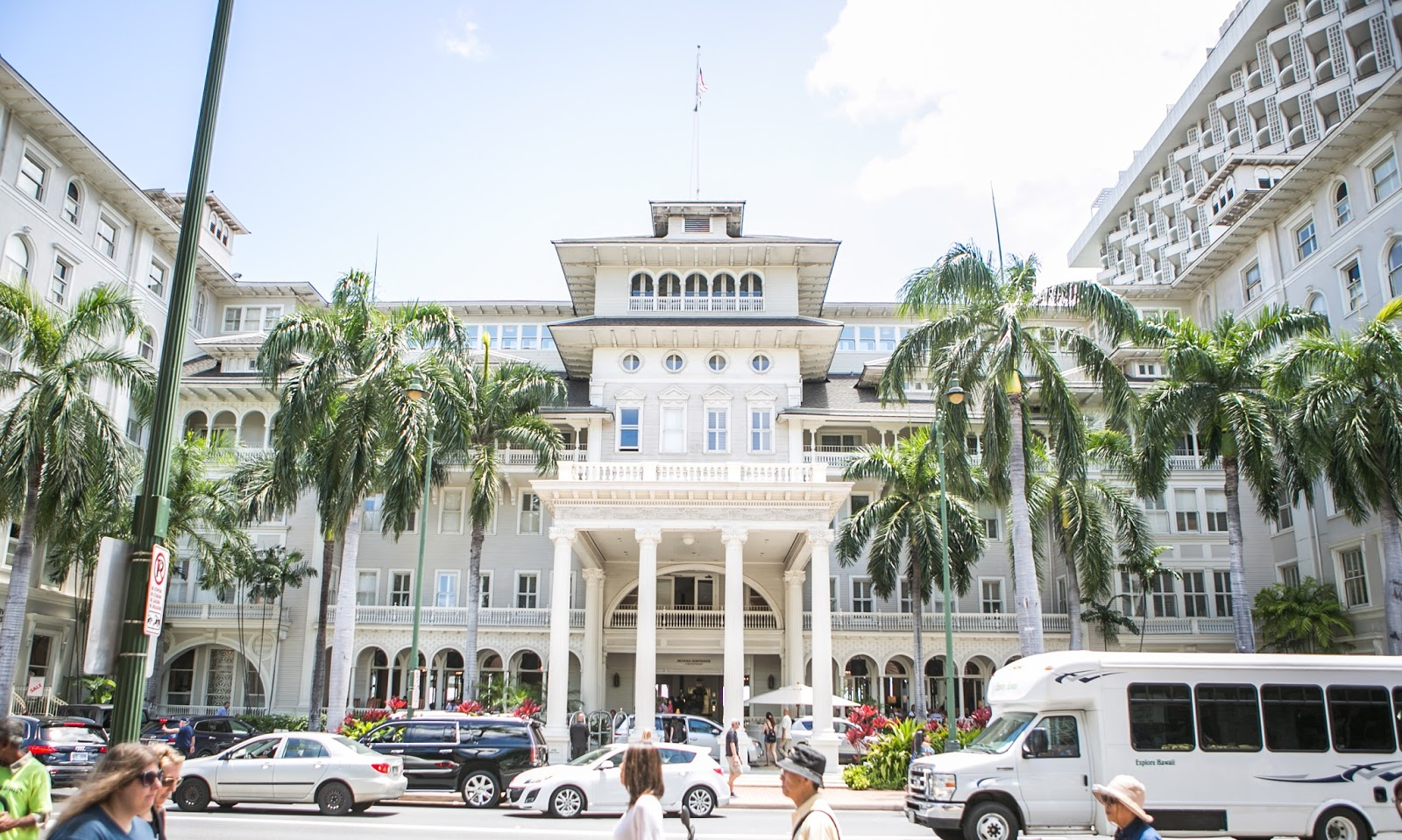 Moana Surfrider Hawaii Waikiki Luxury Resort Review Veranda