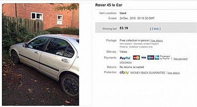 Netizen Tertarik Gara-gara Mobil Sedan Ini Hanya Terjual 53 Ribu Saja!