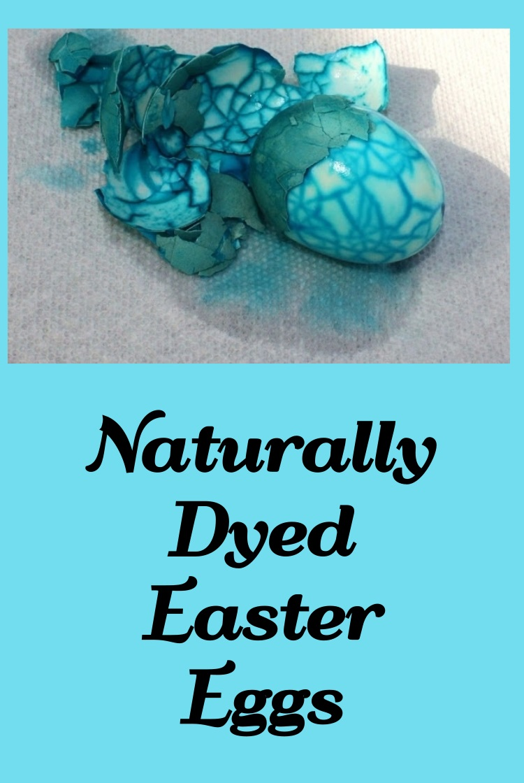 Easter eggs crackled with natural dyes. Dying Easter eggs with plant colors and natural foods are much healthier for the hard boiled eggs . Eating them are healthy and pretty to look at