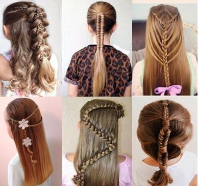 Peinados faciles para ninas paso por paso