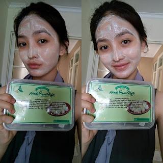 Natasha Wilona Pakai Lulur Wajah