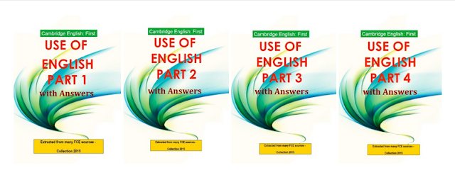 Use of English (Cambridge English First) 1-4