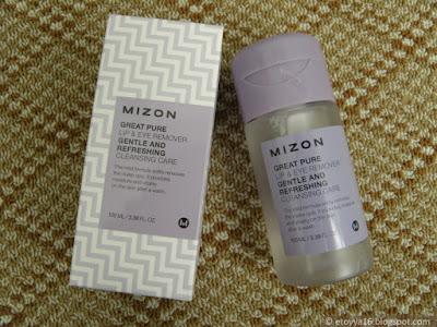 Средство для демакияжа Mizon, Great Pure Lip & Eye Remover