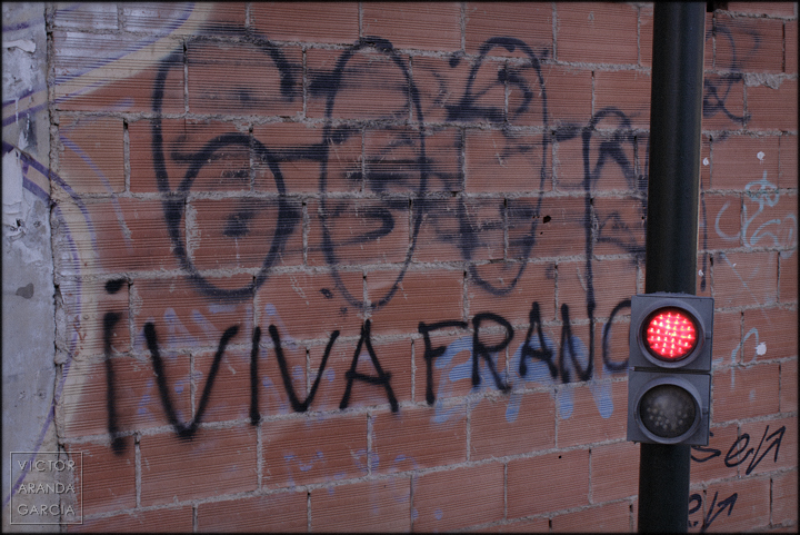 fotografia,arriba_extraña,murcia,franco,a-tope,cartel,viva