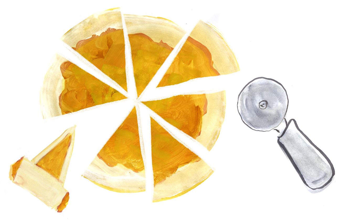 Pineapple Tart Rugelach, Hanukkah, ChineseNewYear, Lauren Monaco Illustration