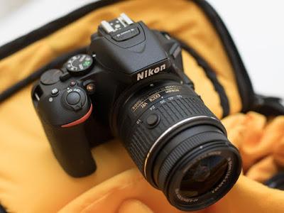 Cámara Nikon D5500