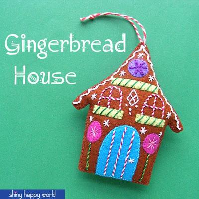 http://www.shinyhappyworld.com/2014/11/gingerbread-free-felt-christmas-ornament-pattern.html