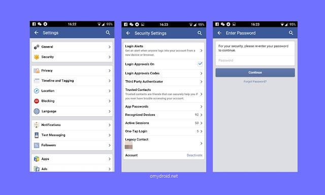 Cara Menyahaktifkan Facebook Melalui Android