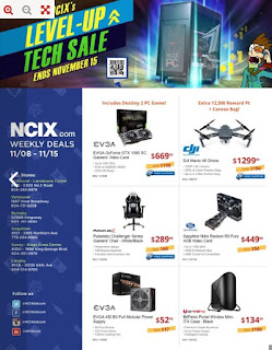 NCIX Flyer Weekly Deals November 8 - 15, 2017