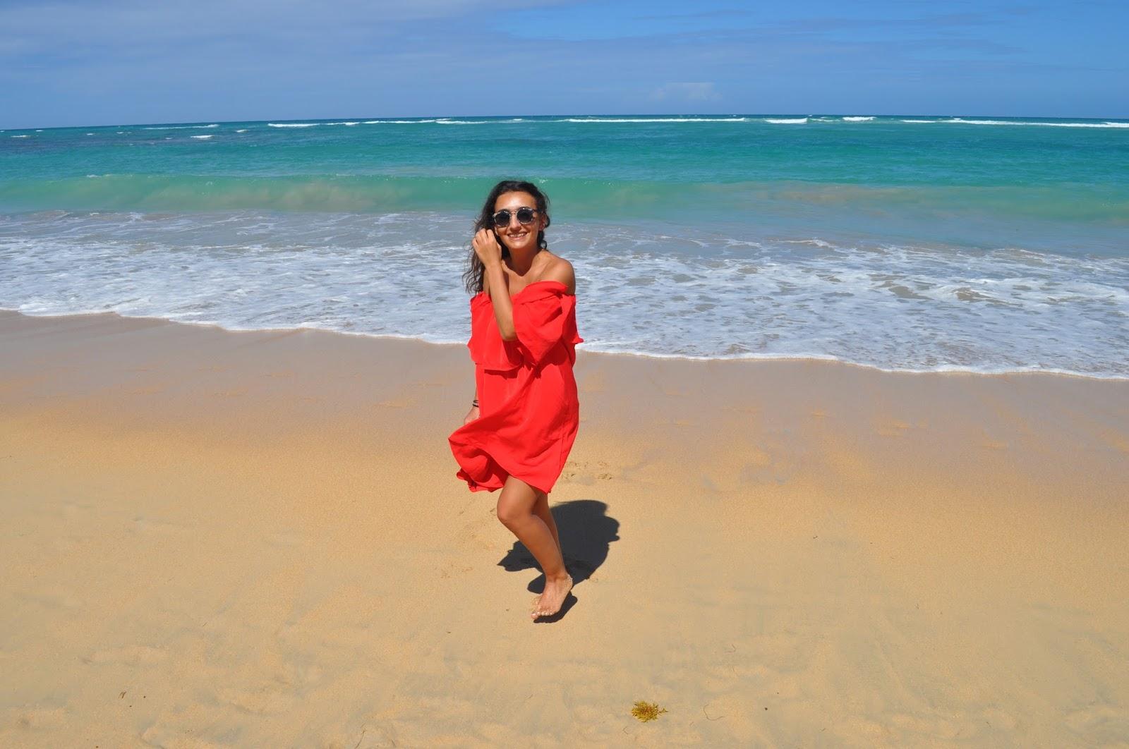 blog blogger été outfit référencement SEO tenue dété savoir comment s'habiller quand il fait très chaud voyage punta cana rouge missguided robe rouge shein mon avis sur shein