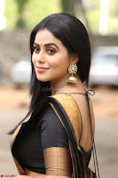 Poorna in Cute Backless Choli Saree Stunning Beauty at Avantika Movie platinum Disc Function ~  Exclusive 033.JPG