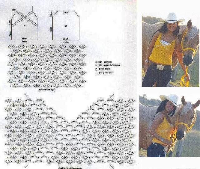 Crochet Esquema: Varios esquemas hermosos