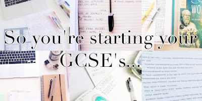 So You're Starting Your GCSE's... (The School Masterpost)  - Paint the Roses Red